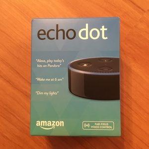 NIB Amazon Echo Dot (2nd Generation)
